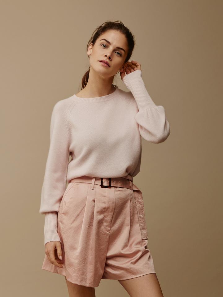 Thumbnail Women's High Rib Sleeve Sweater