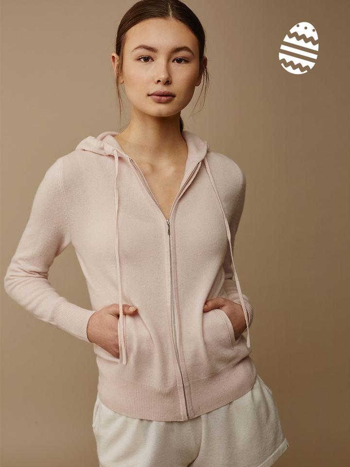 Soft Goat Women's Hoodie Powder Pink