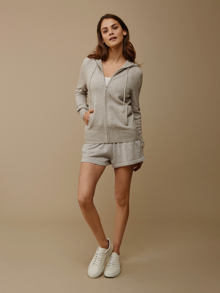 Soft Goat Women's Hoodie Light Grey