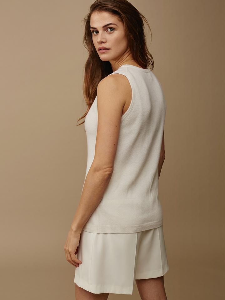 Soft Goat Women's Singlet Off White