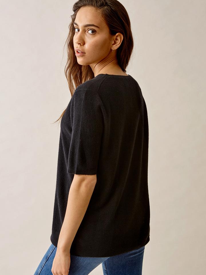 Thumbnail Fine Knit T-shirt