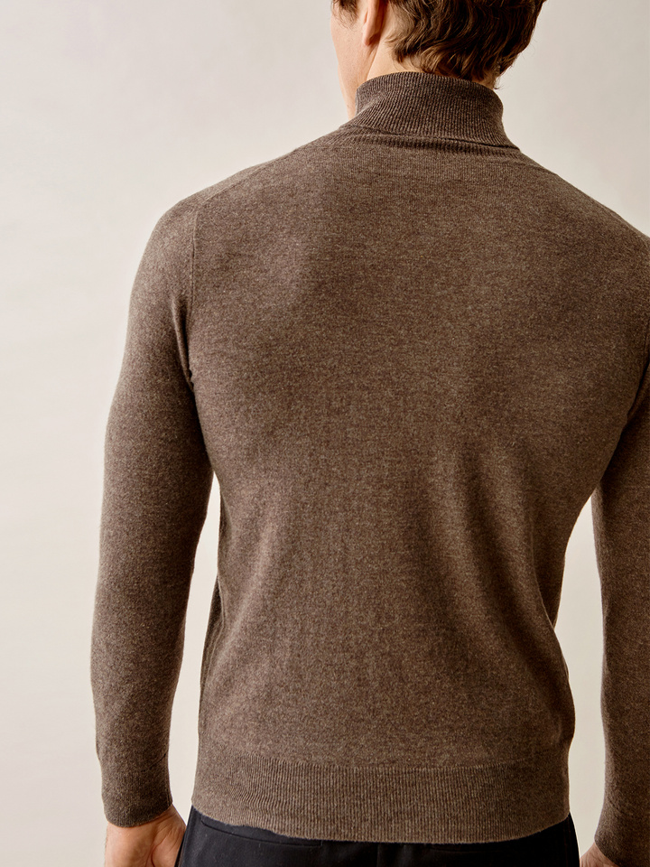 Thumbnail Men's Fine Knit Turtle Neck