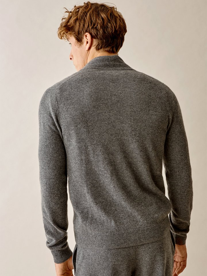 Thumbnail Men's Shawl Neck Cardigan