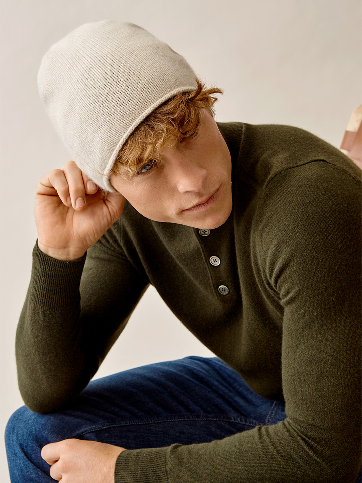 Thumbnail Men's Plain Beanie