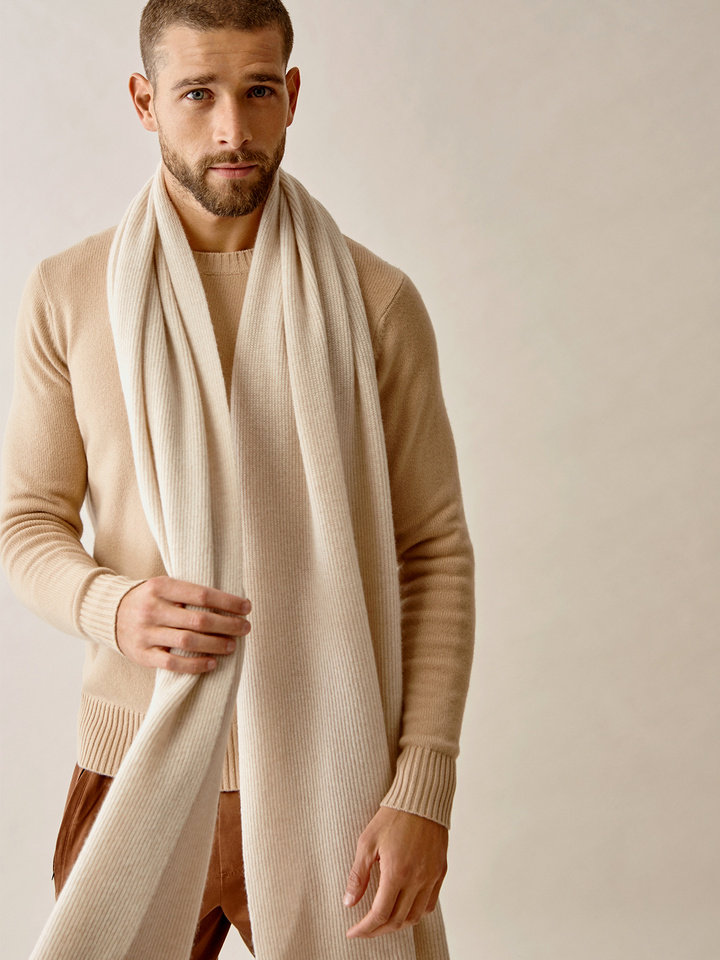 Thumbnail Men's Ribbed Scarf