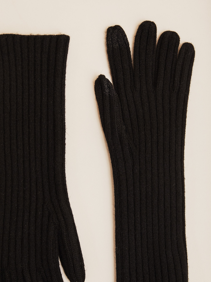 Thumbnail Ribbed Smartphone Touch Gloves