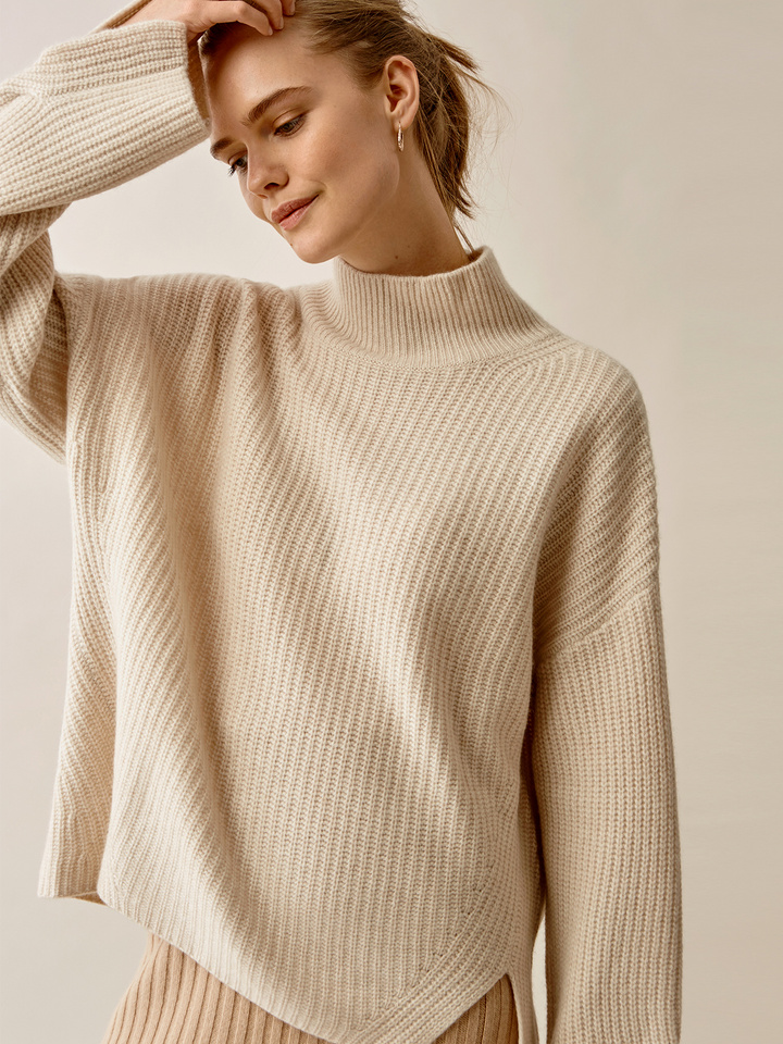 Thumbnail Ribbed Turtle Neck