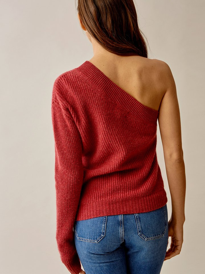 Thumbnail One Shoulder Sweater