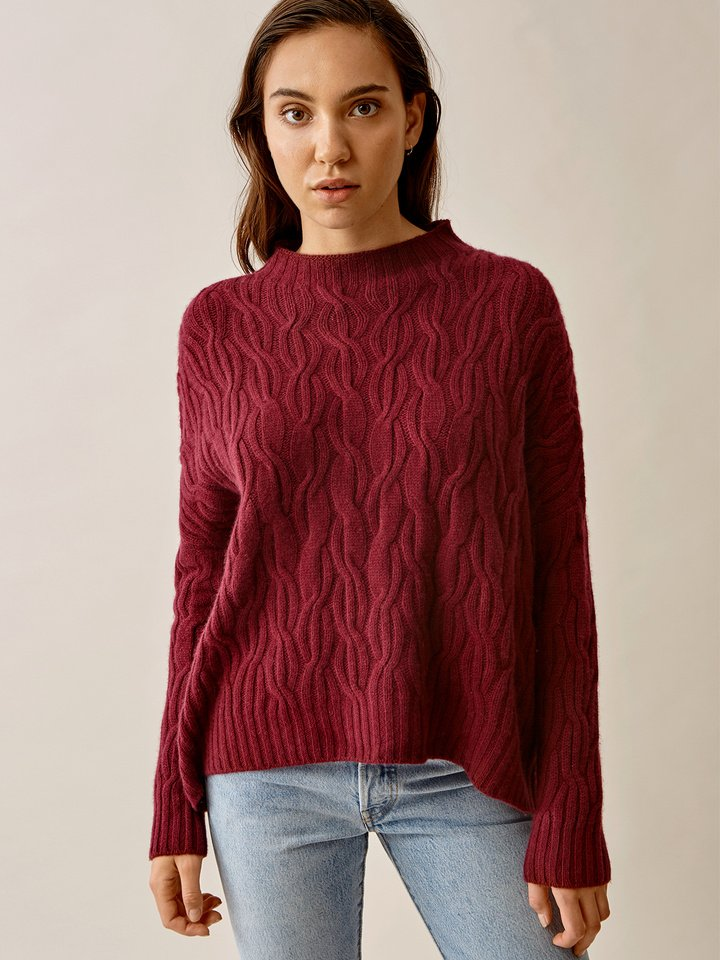 Thumbnail Oversized Cable Knit