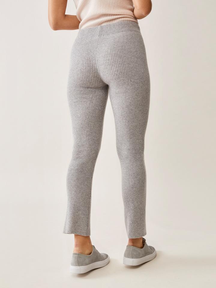 Thumbnail Ribbed Cropped Pants