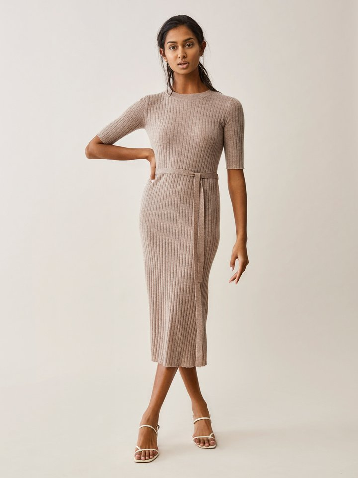 Thumbnail Ribbed Dress
