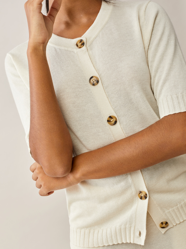 Thumbnail Short Sleeve Cardigan