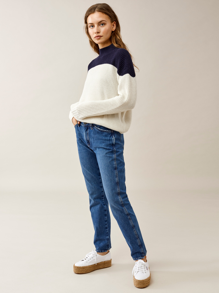 Thumbnail Ribbed Wide Neck