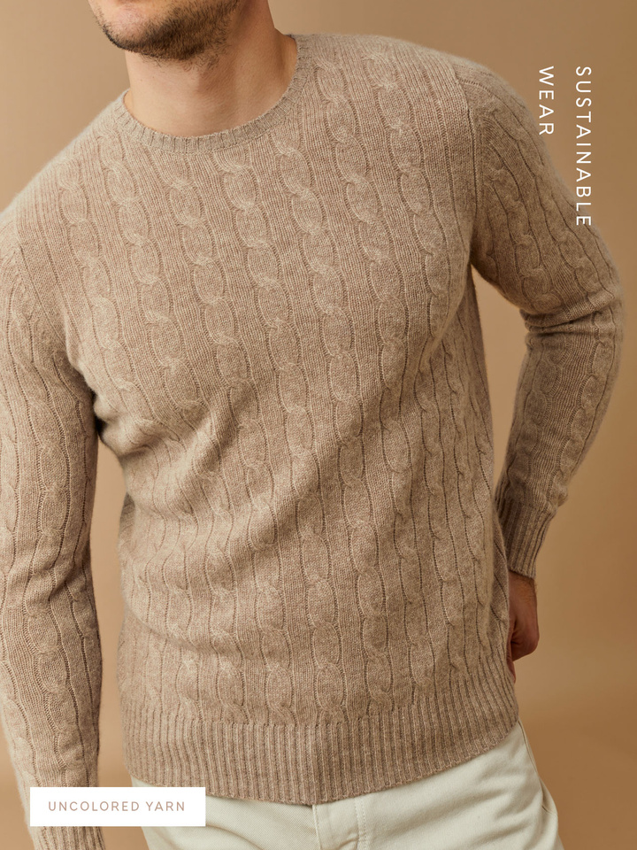 Thumbnail Men's Cable Knit