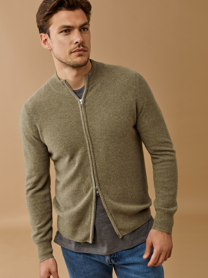 Thumbnail Men's Zip Cardigan
