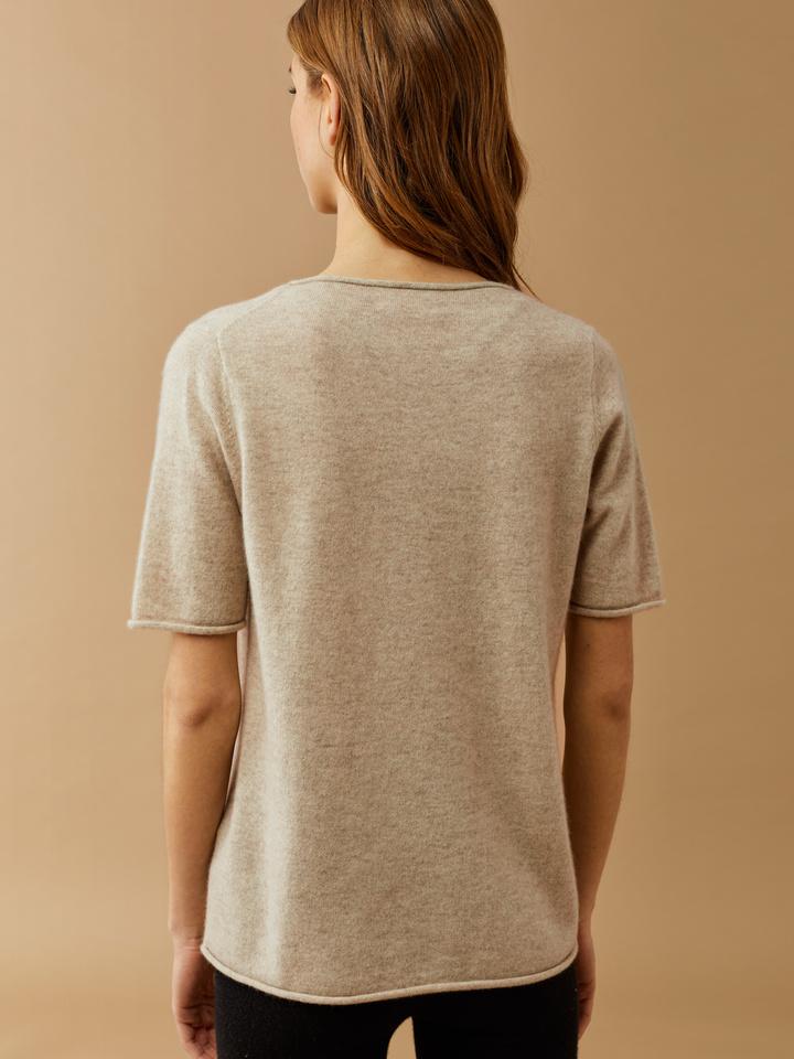 Thumbnail Rolled Edge T-shirt