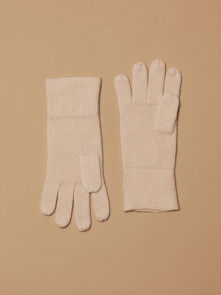 Thumbnail Waffle knit Gloves