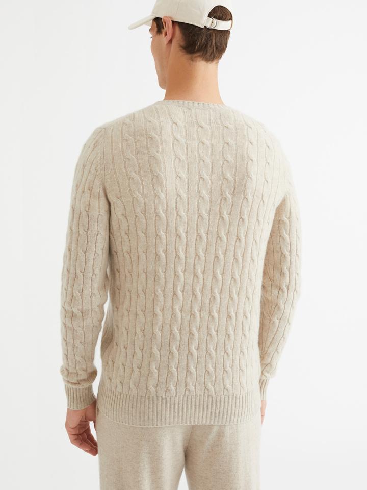 Thumbnail Men's Cable Knit