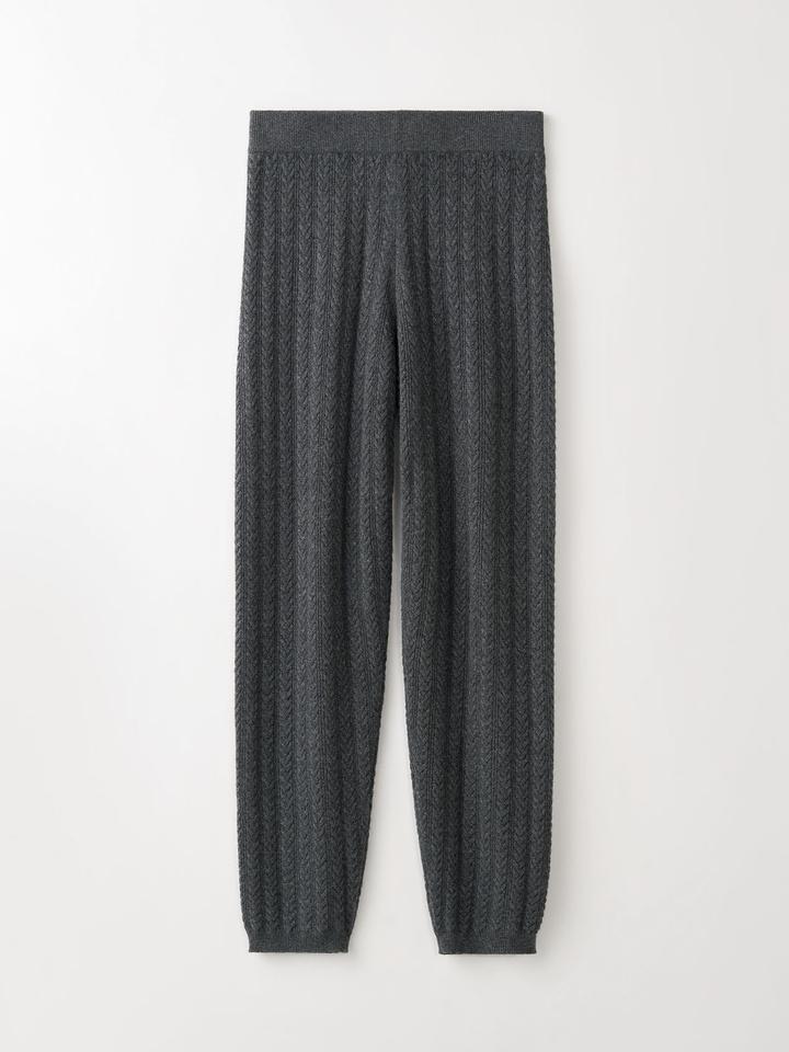 Thumbnail Pattern Pants Dark Grey