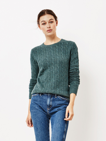 Product thumbnail of Women's Cable Knit O-neck