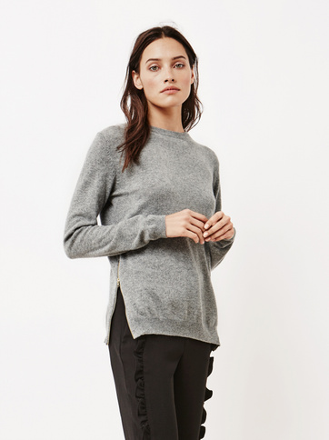 Product thumbnail of Women's O-neck with Zipper