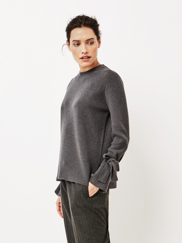 Product thumbnail of Women's Jaquard Bow Arm Sweater