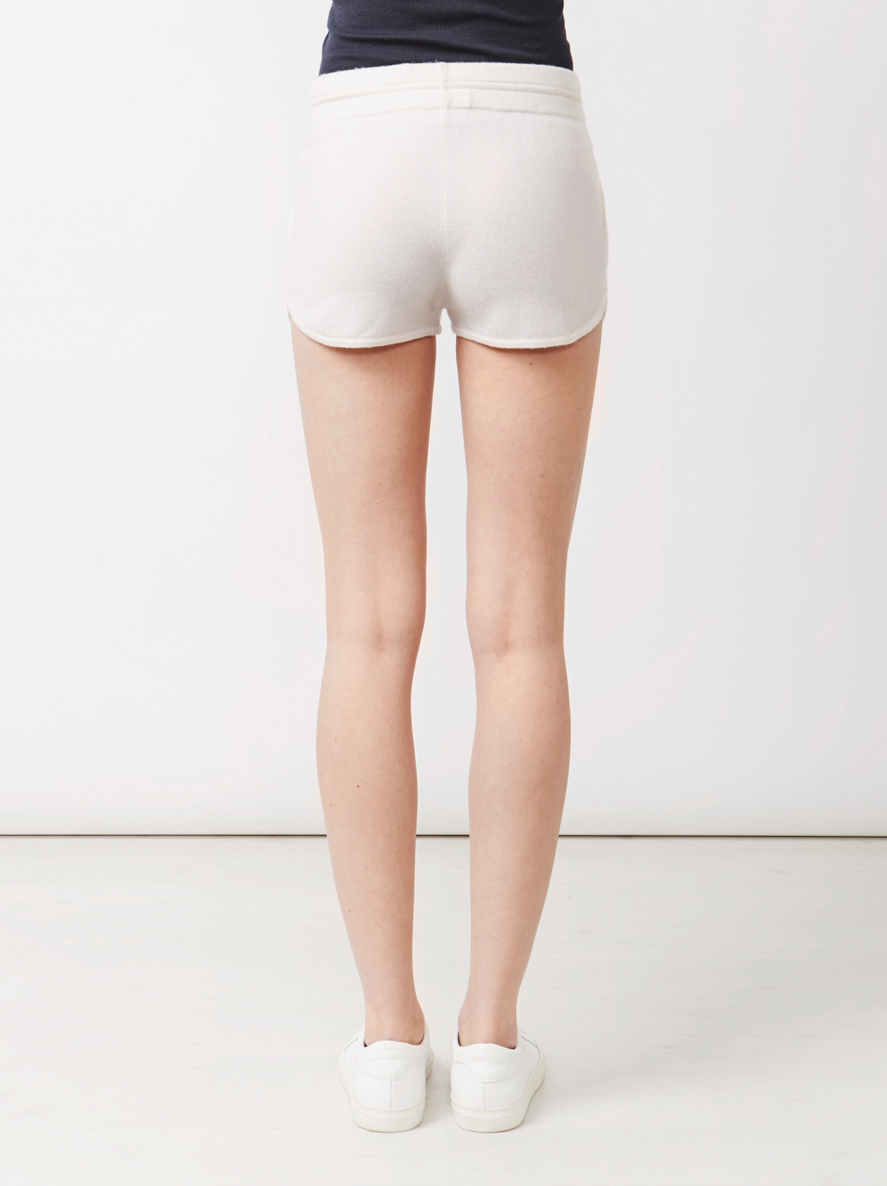 Soft Goat Women's Shorts Off White