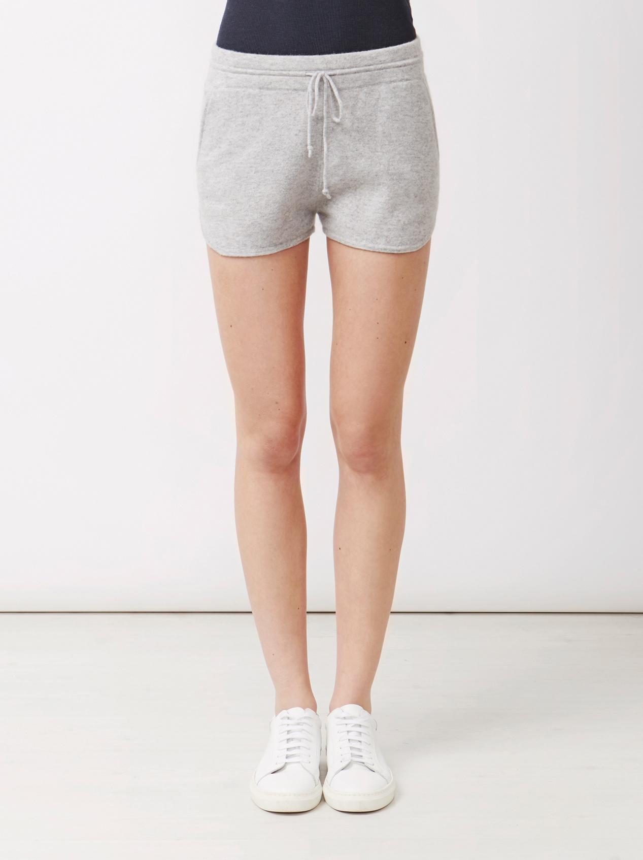 Soft Goat Women's Shorts Light Grey