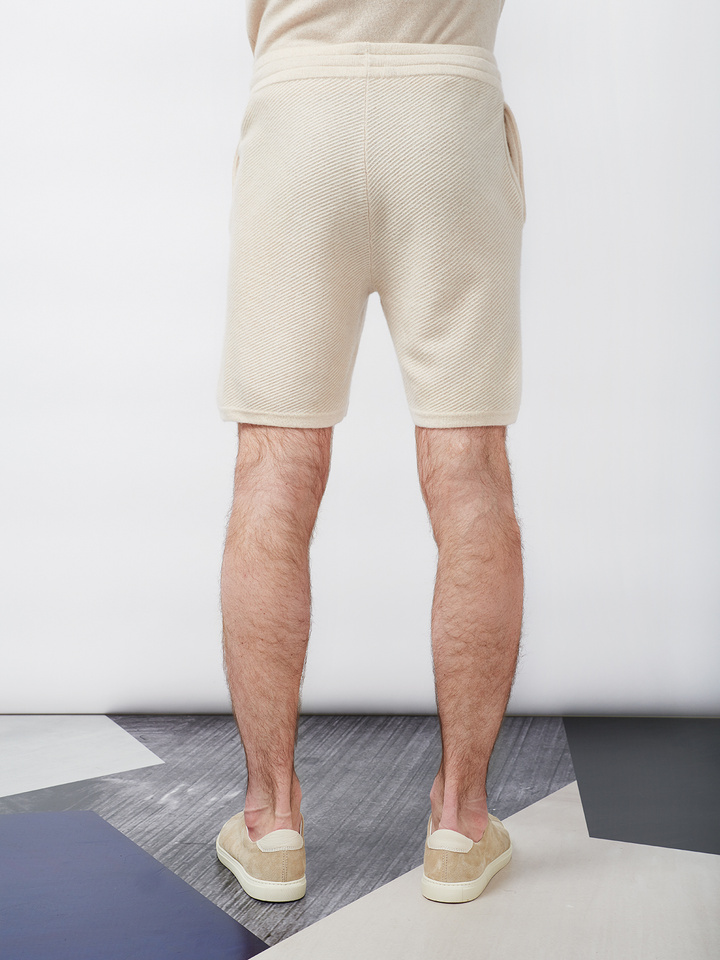 Soft Goat Men's Hiljemark Shorts Beige