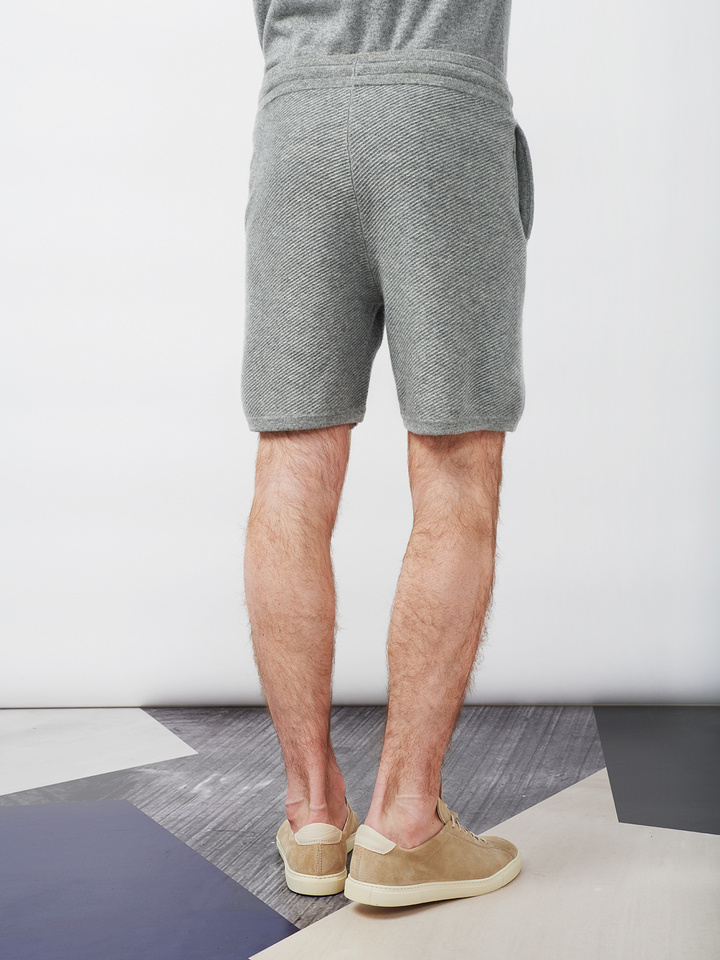 Soft Goat Men's Hiljemark Shorts Dark Grey