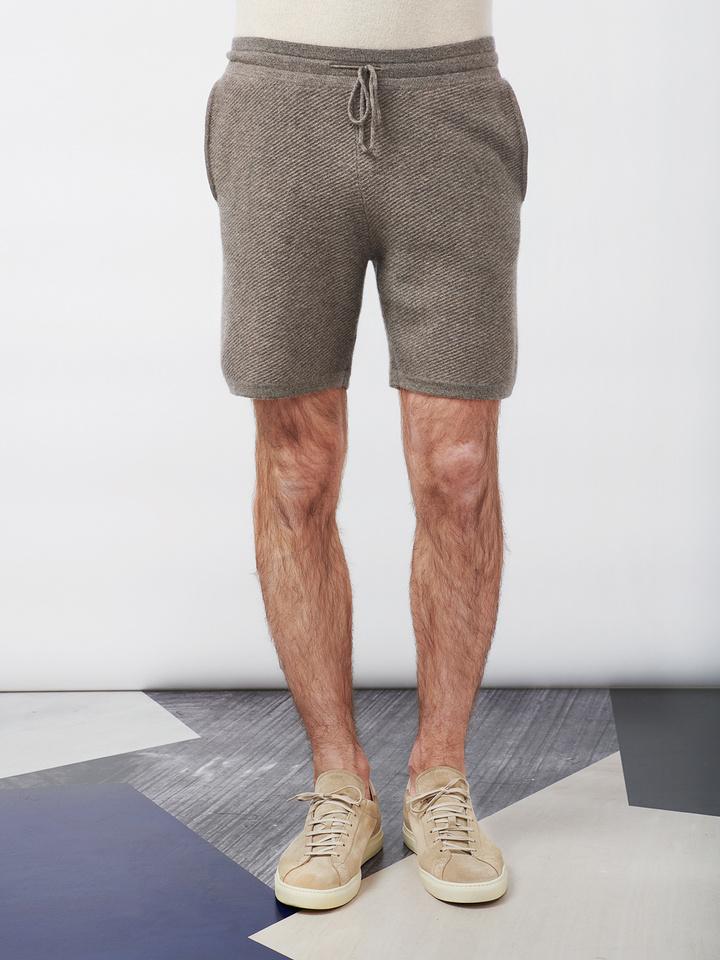 Soft Goat Men's Hiljemark Shorts Taupe