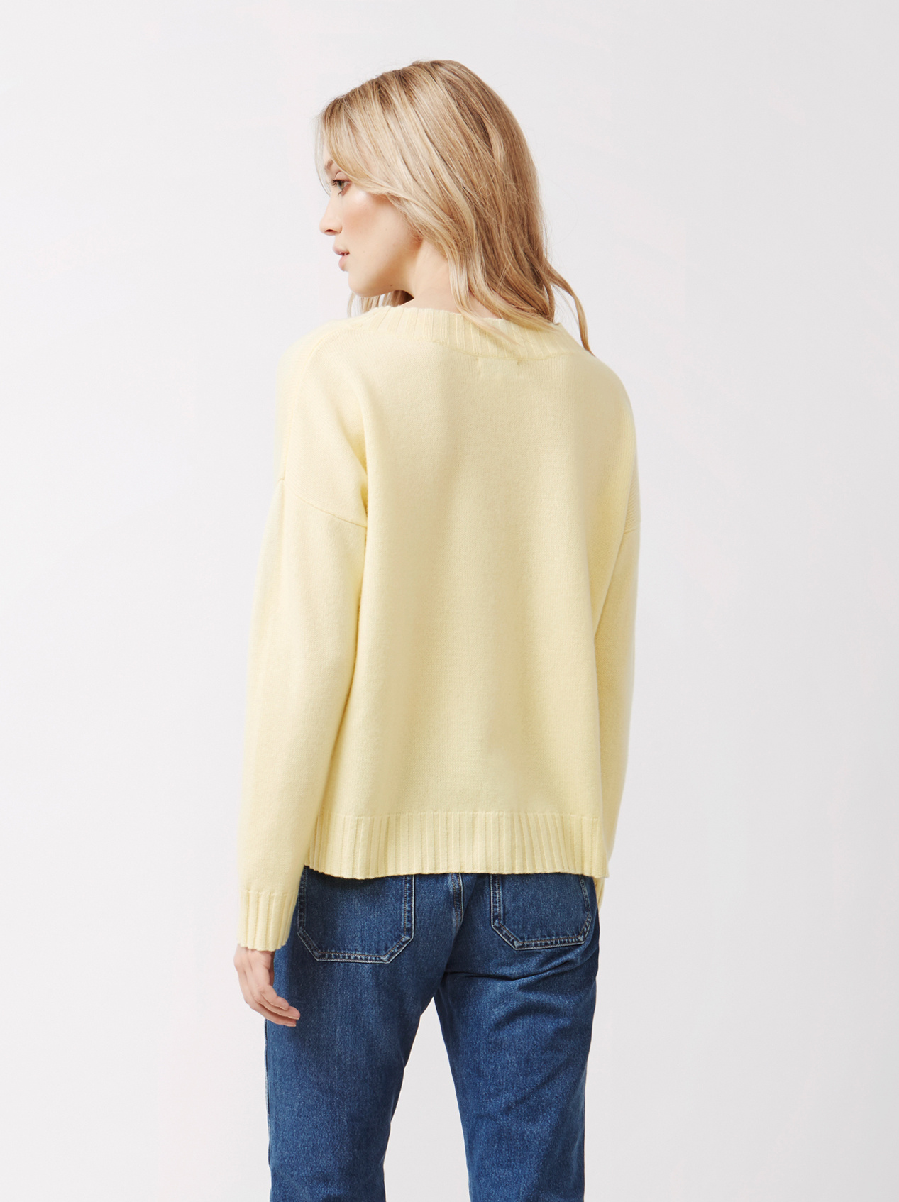 Soft Goat Women's Relaxed Sweater Limoncello