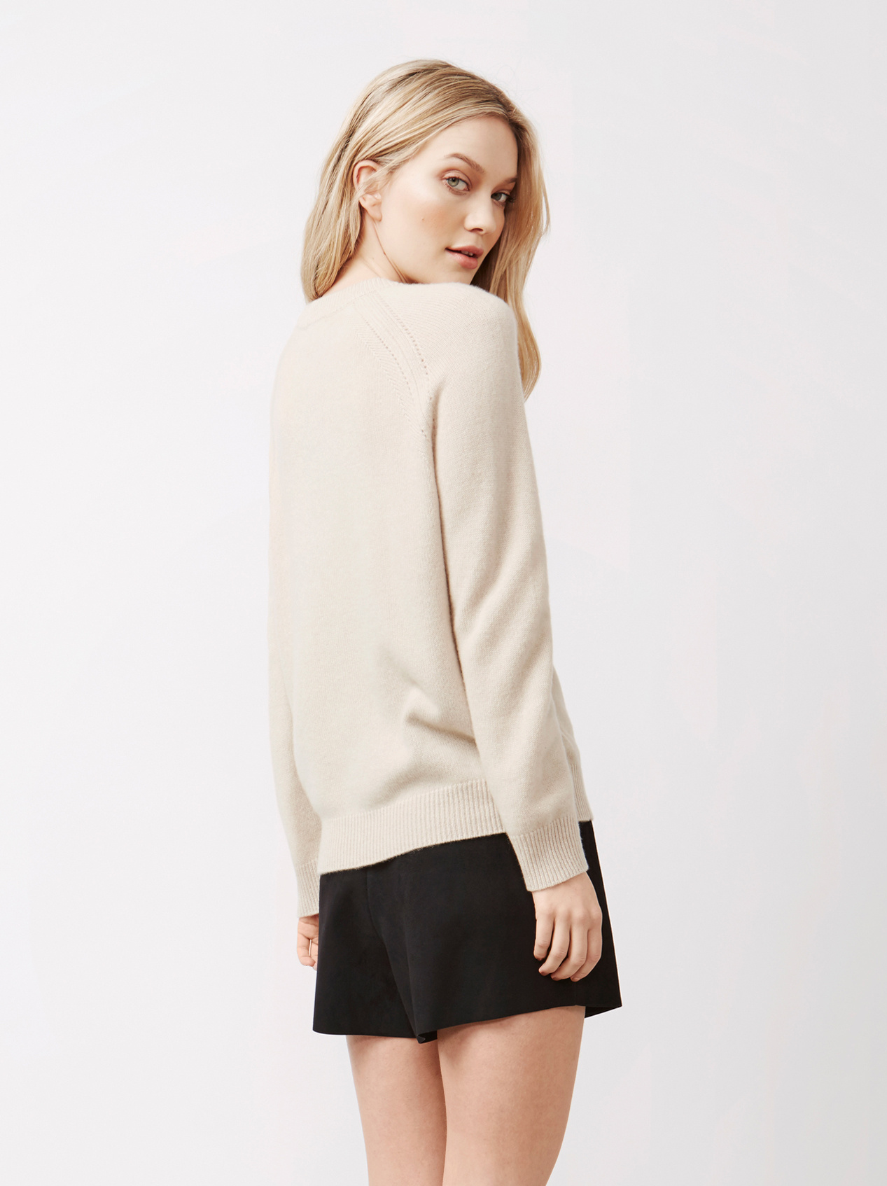 Soft Goat Women's Soft Sweater Beige