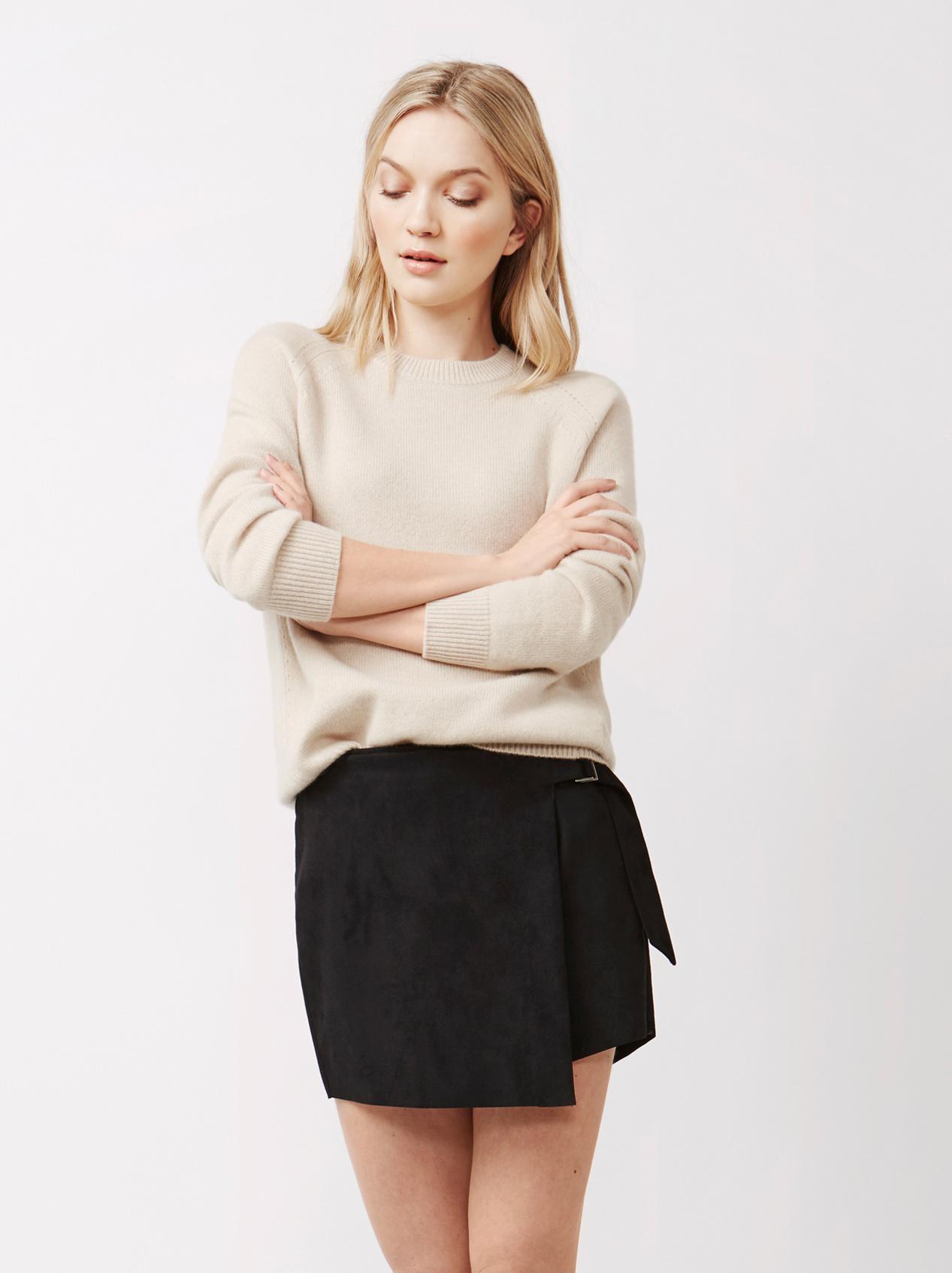 Soft Goat Women's Soft Sweater Beige