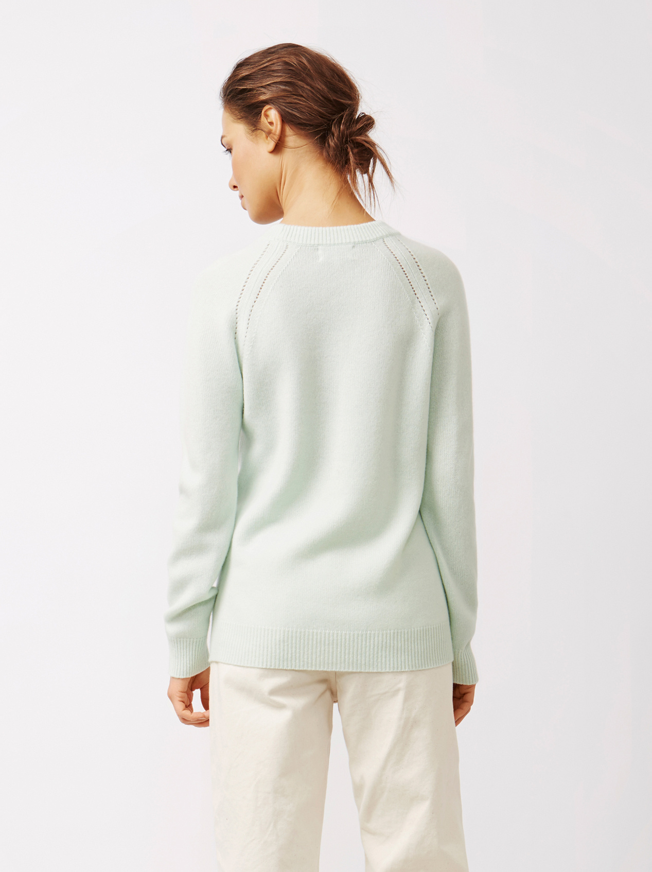 Soft Goat Women's Soft Sweater Sorbet Mint