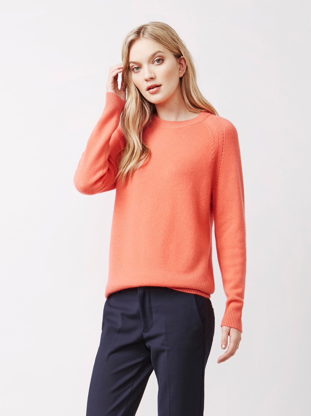 Soft Goat Women's Soft Sweater Tropicana