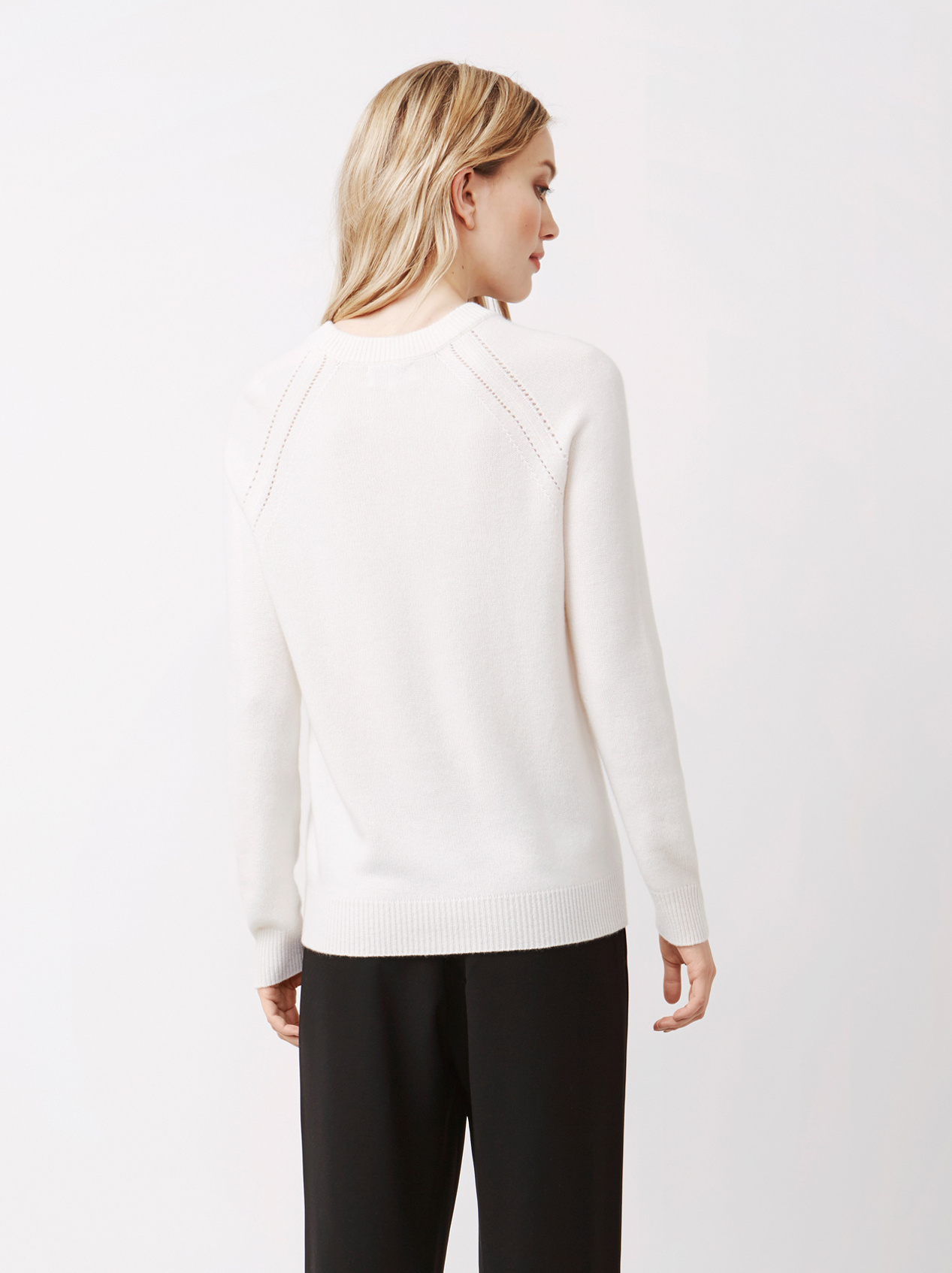 Soft Goat Women's Soft Sweater Off White