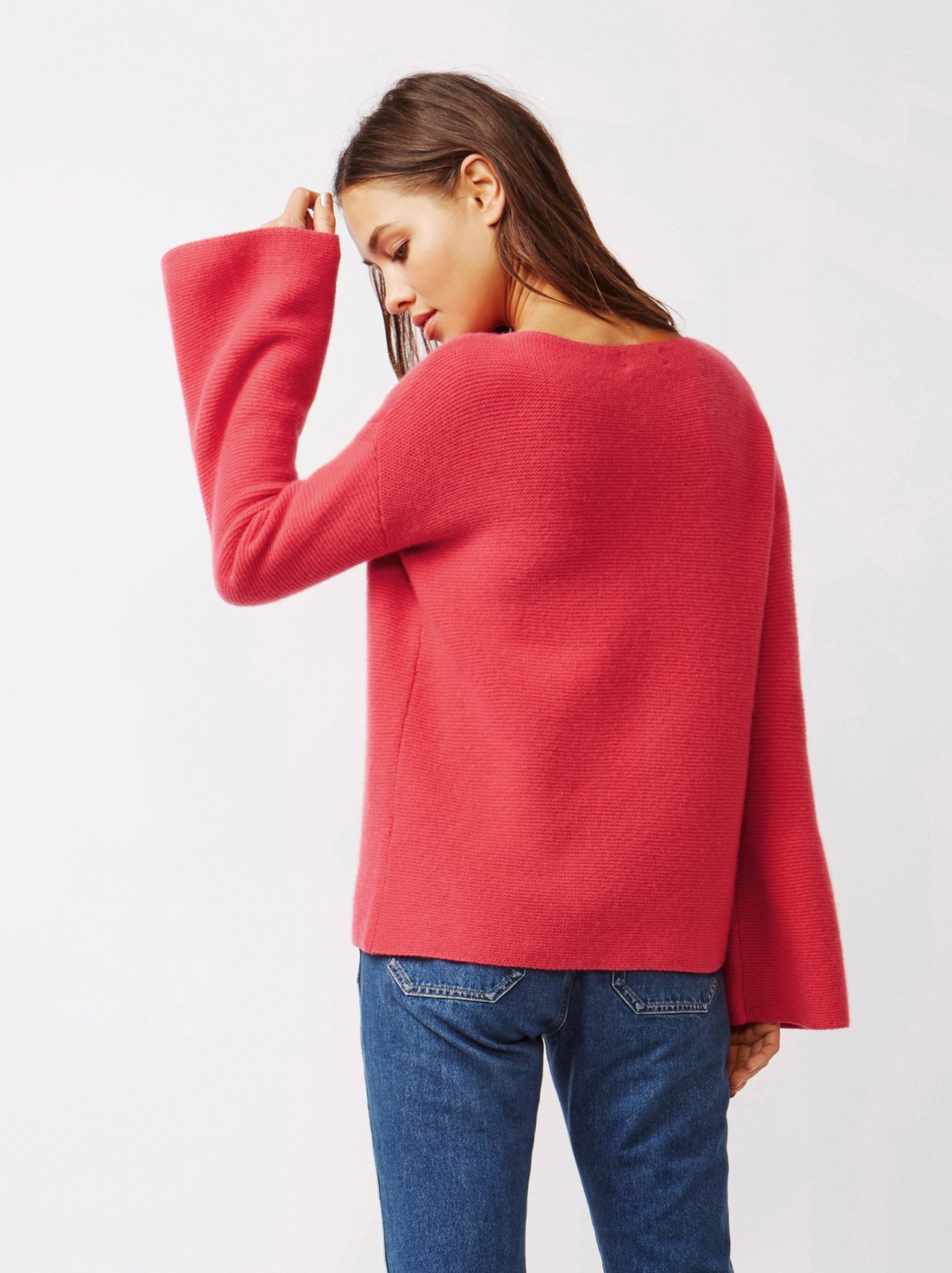 Soft Goat Women's Chunky Boatneck Very Berry