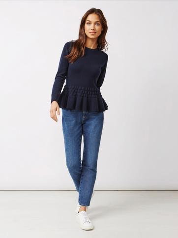 Product thumbnail of Women's Bottom Ruffle Sweater