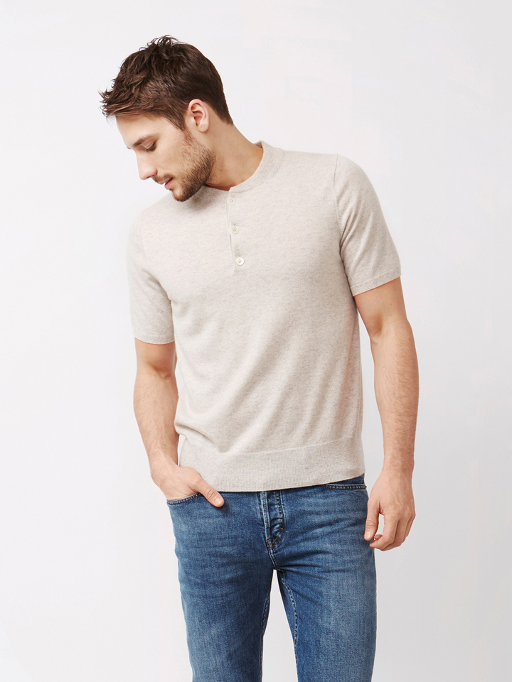 Thumbnail Men's Short Sleeve Rugby Sweater