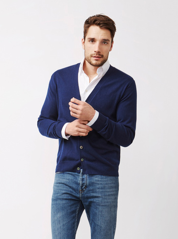Product thumbnail of Men's Fine Knit Cardigan