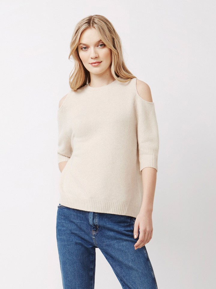 Thumbnail Women's Cold Shoulder Sweater