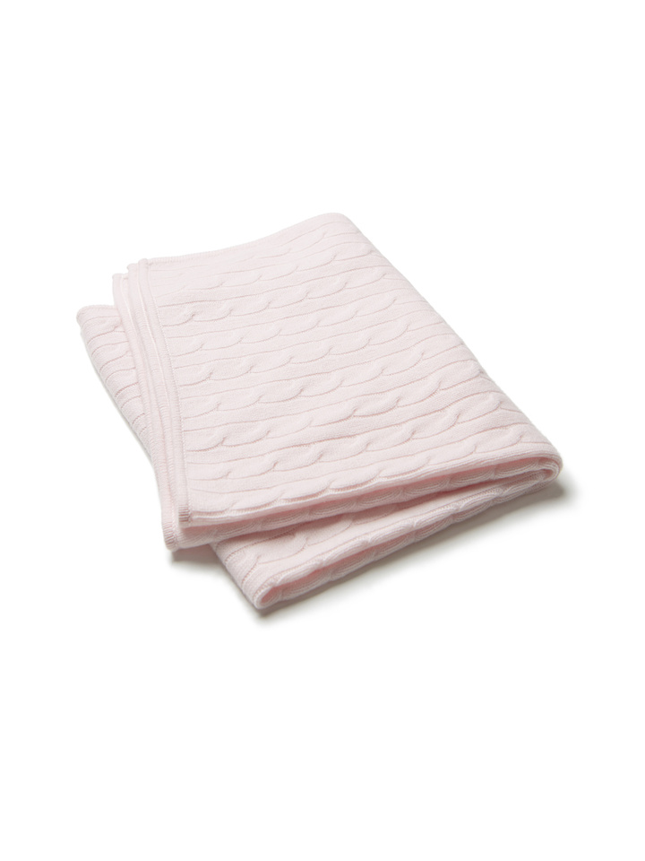 Soft Goat Baby Blanket Baby Pink Baby Pink