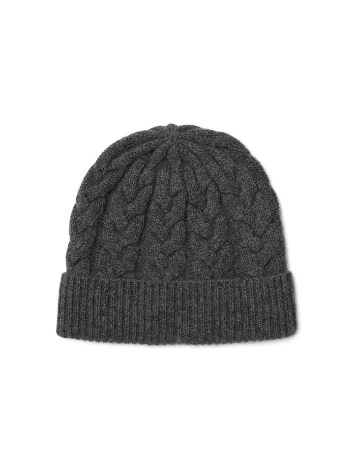 35f2deeaaf8 Cable Knit Beanie - Soft Goat Online Cashmere