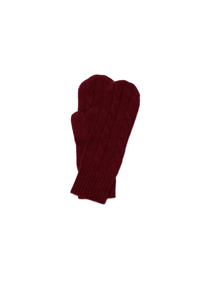 Thumbnail Cable Knit Mittens