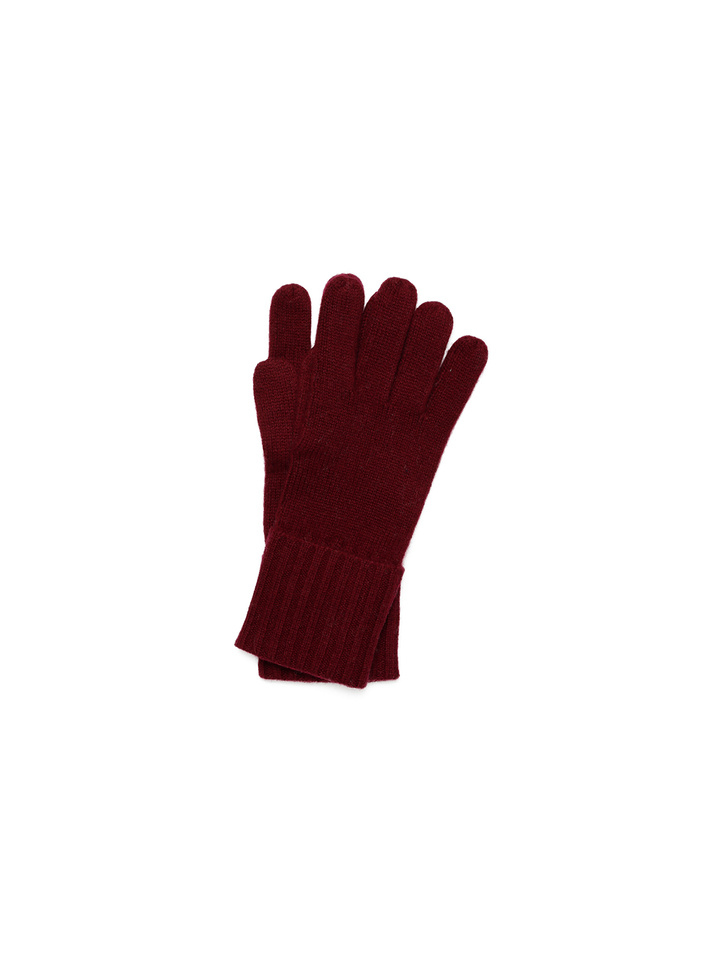 Soft Goat Gloves Burgundy