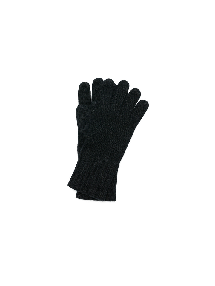 Soft Goat Gloves Black