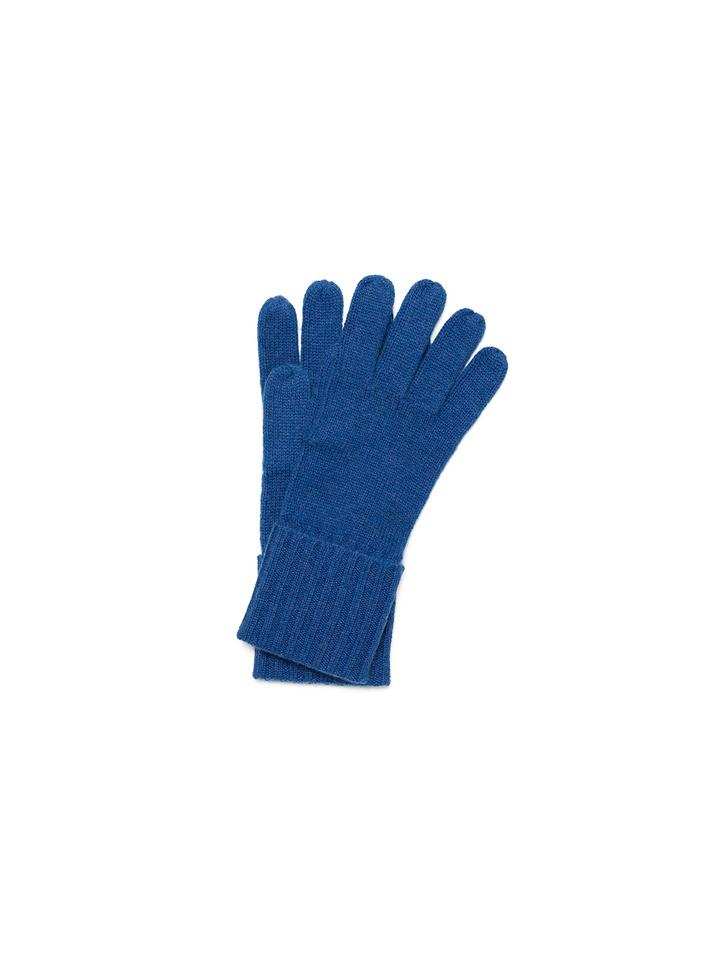 Soft Goat Gloves Royal Blue