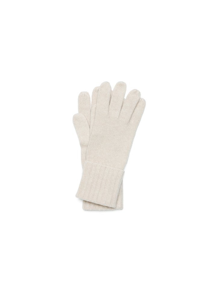 Soft Goat Gloves Beige