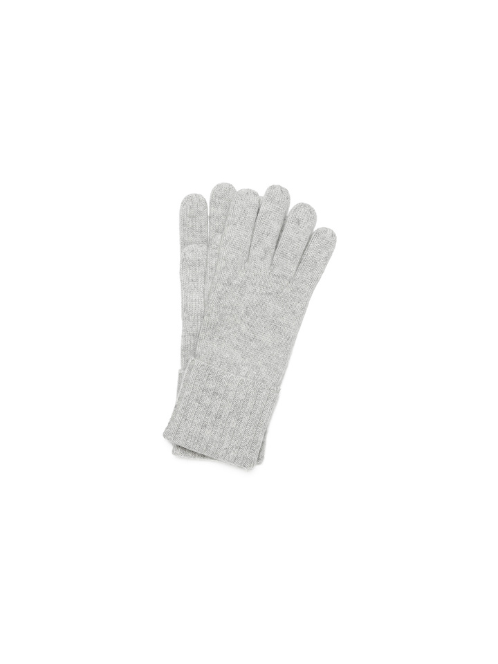 Soft Goat Gloves Light Grey